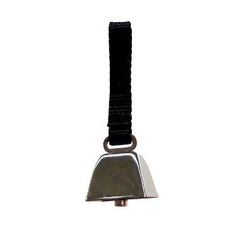 Hunting Dog Collar Cowbell Small