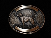 Setter Buckle Bronze or Silver