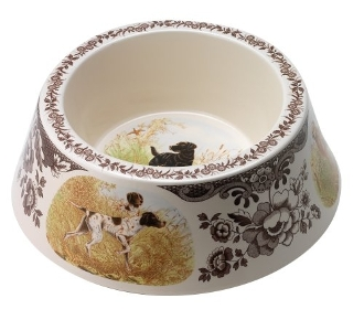 Woodland Hunting Dog Bowl