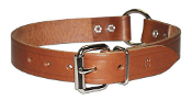 RIC O Ring Leather Collar 1 inch