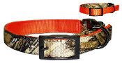 Reversible Camo or Orange Hunting Collar