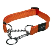 Martingale Dog Collar Orange