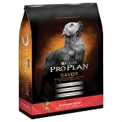 Pro Plan Savor Shredded Blend Beef and Rice Adult Dry Dog Food