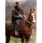 Oilskin Packable Poncho