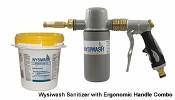 Wysiwash Sanitizer with Ergonomic Handle & Caplets Combo - See m