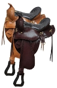 Double T Gaited Saddle 16""