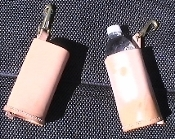 Leather Water Bottle Holster
