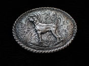 Pointer Buckle Pewter