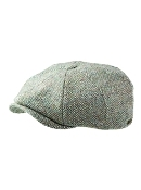 Stetson Harris Tweed 8 Panel Cap