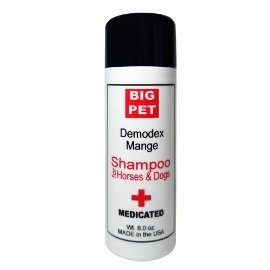 Big Pet DemodexMange Shampoo for Horse and Dog