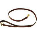 Mendota Snap Lead - Leather - 4 ft or 6 ft. x 3/4 in.